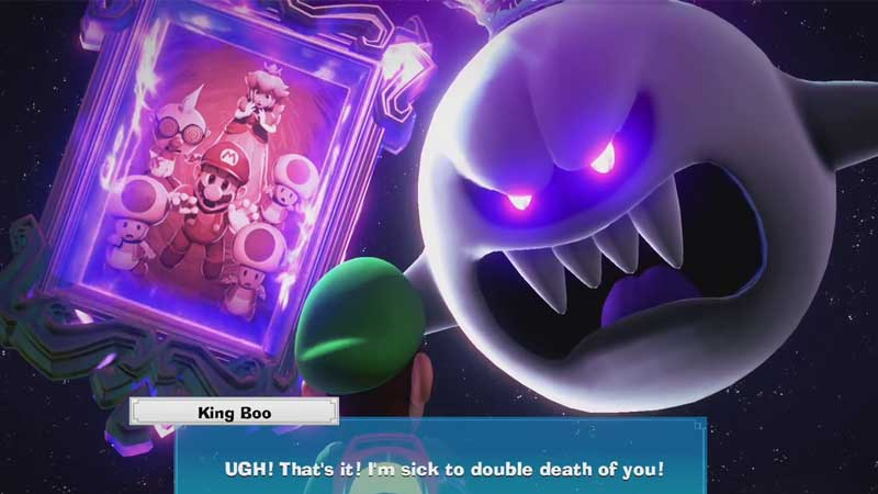 Defeat King Boo