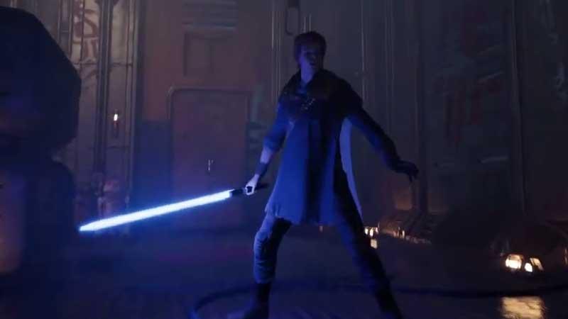 How to use Light Saber Star Wars Jedi: Fallen Order
