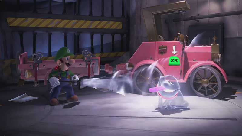 Luigis Mansion 3 Switch Controls