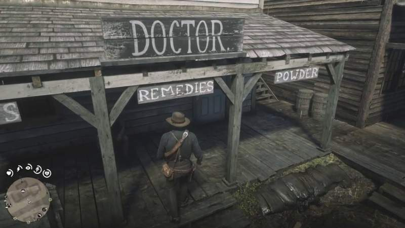 rob the valentine doctor rdr2