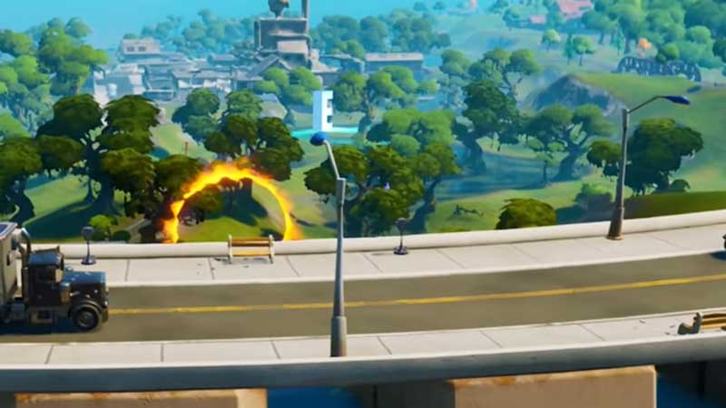 Where To Find Hidden E From The Loading Screen In Fortnite
