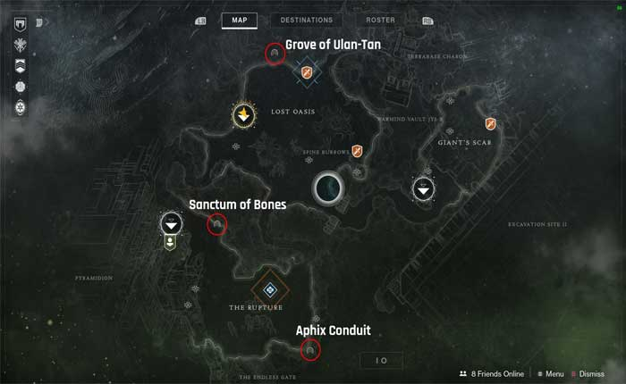 Io Lost Sectors