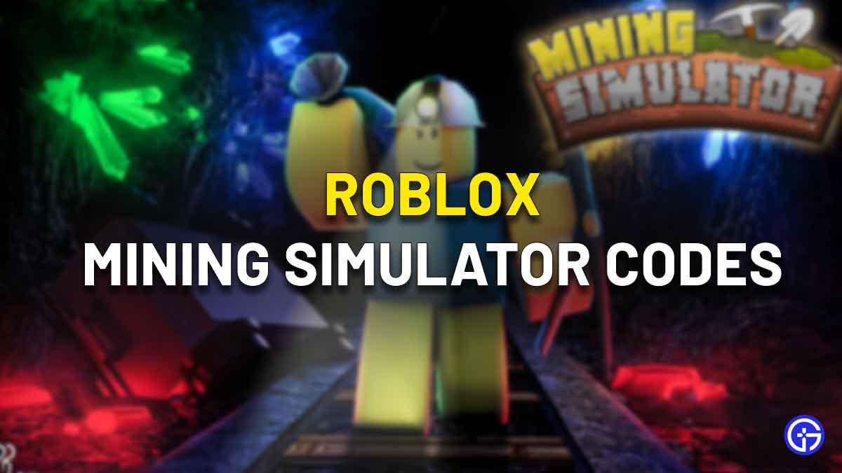 mining simulator codes