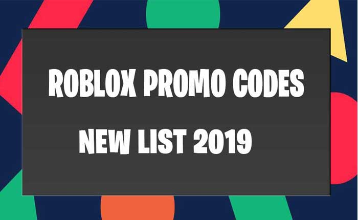 Roblox Promo Codes Updated List December 2019 - where to put roblox promo codes free roblox promo codes