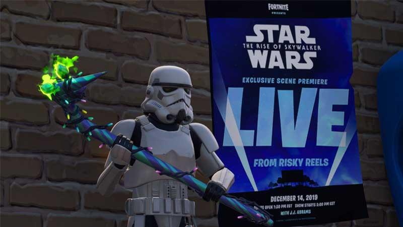 Fortnite Star Wars Skywalker