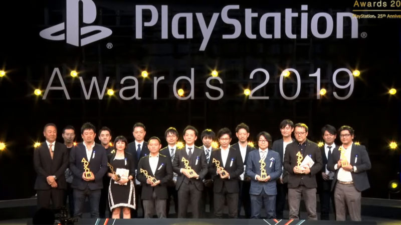PlayStation Awards 2019 - Gold