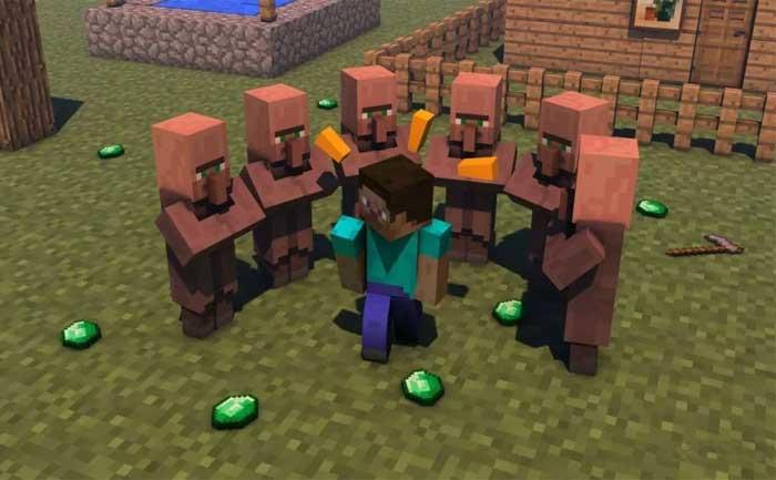 Minecraft Villager Changing Job