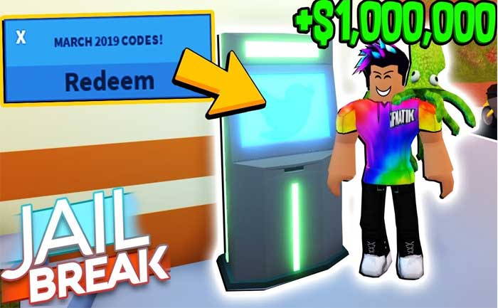 Jailbreak Codes For Roblox Atm Locations Jailbreak Codes List 2020
