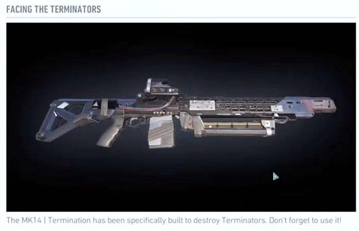 Breakpoint MK14 Terminator Gun