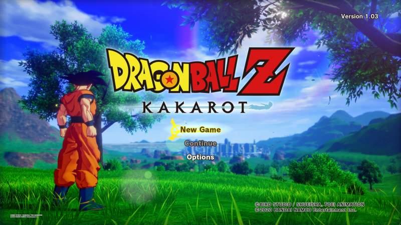 dragon ball z kakarot fix screen tearing control prompt crashes