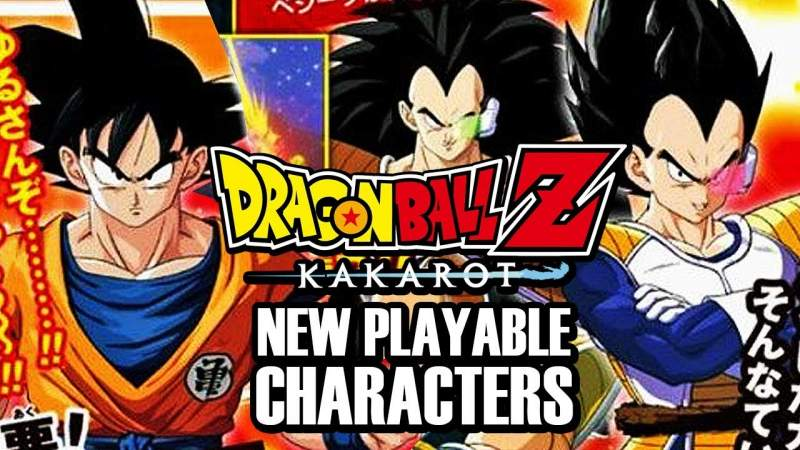 dragon ball z kakarot playable characters list