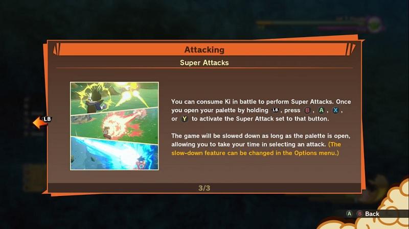 dragon ball z kakarot super attacks
