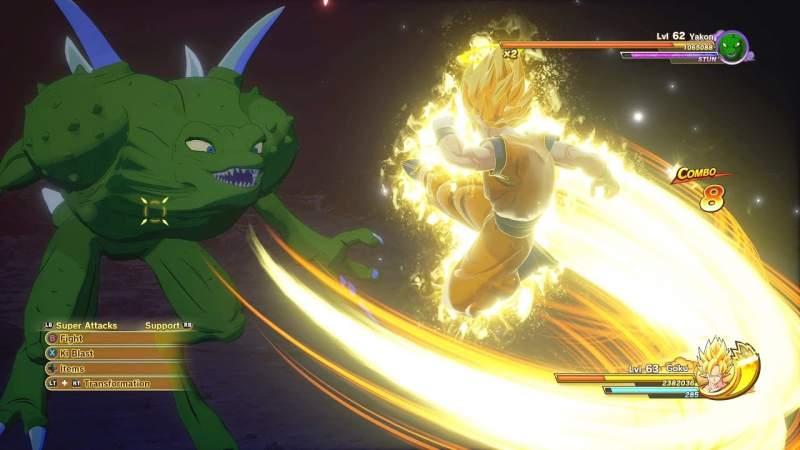 How to Beat Yakon in Dragon Ball Z Kakarot