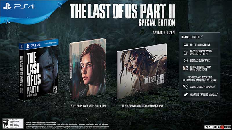 Last of Us 2 Special Edition