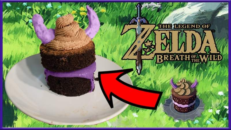 Make Cake Recipe Legend of Zelda Breath of The Wild