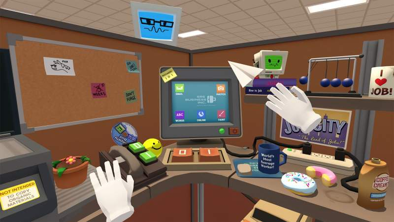 Job Simulator The 2050 Archives VR
