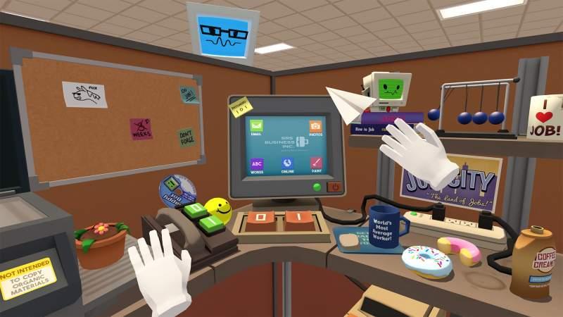 Job Simulator The 2050 Archives VR