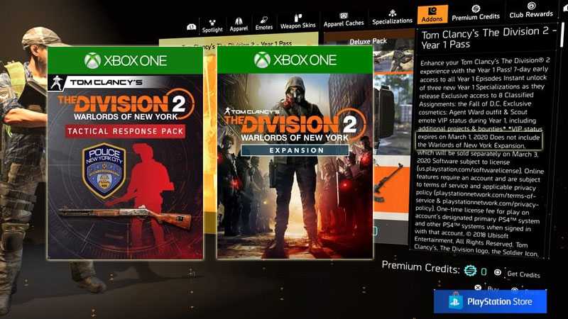 Division 2 Year 1 Expansion