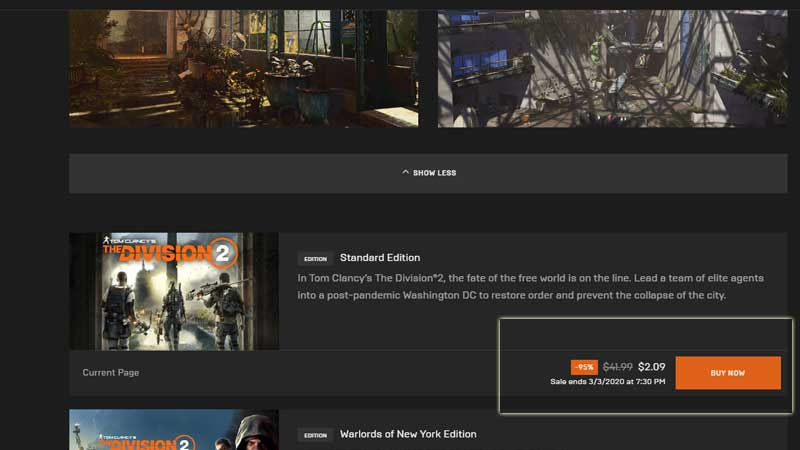 Division 2 PC Download