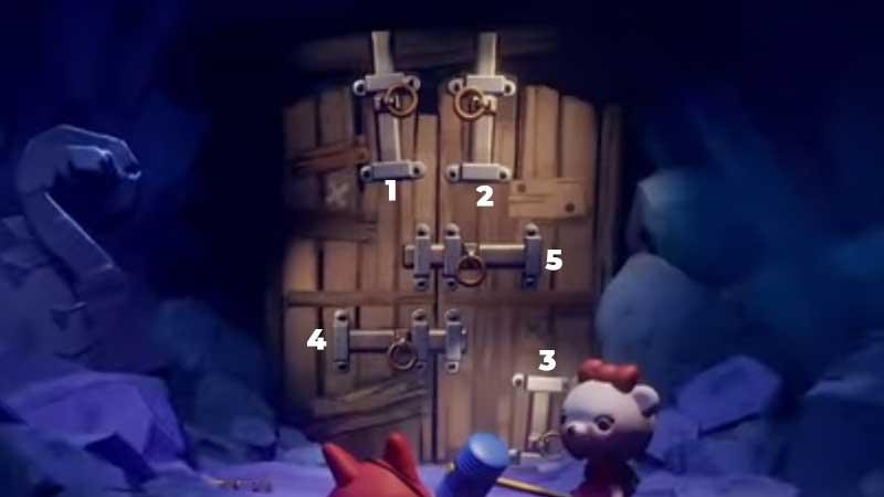 Dreams PS4 Unlock the Wooden Door Puzzle