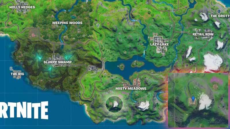 Fortnite 2 Season 2 Chapter 2 Apres Ski Location