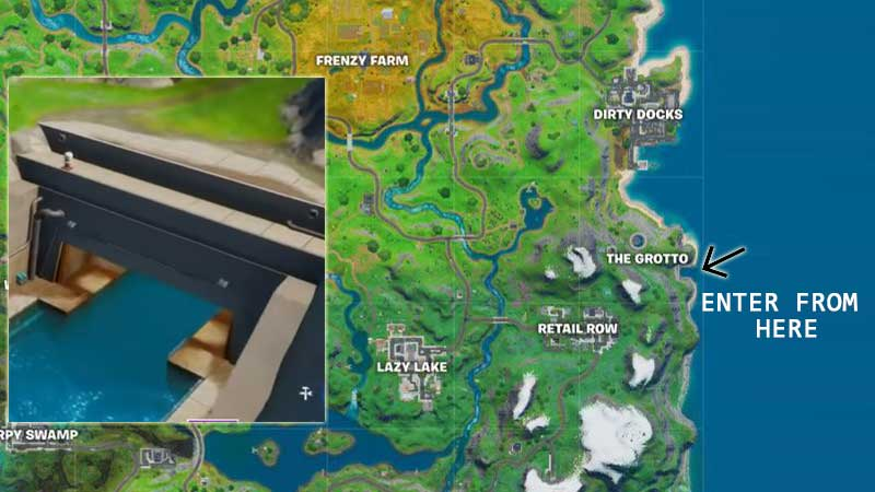 Fortnite 2 Season 2 Chapter 2 Grotto Phone Booth Location