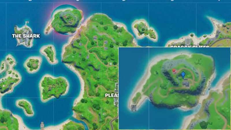 Fortnite 2 Season 2 Chapter 2 Lockie's Lighthouse Location