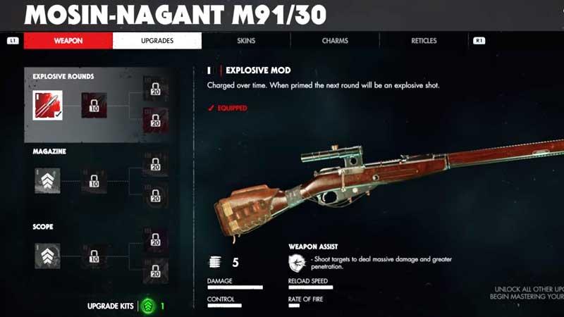 Weapon Mod Zombie Army 4