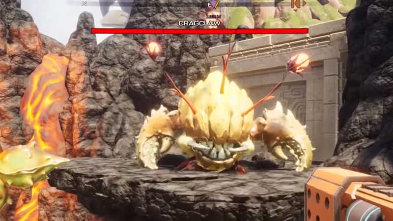 Journey to the Savage Planet Cragclaw Boss Fight