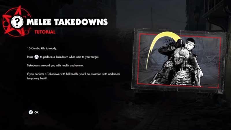 Zombie Army 4 Melee Takedown