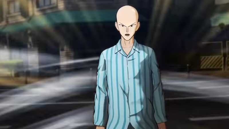 One Punch Man Game Hero Saitama Pajama