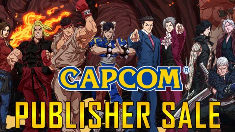 Steam Capcom Sale 2020