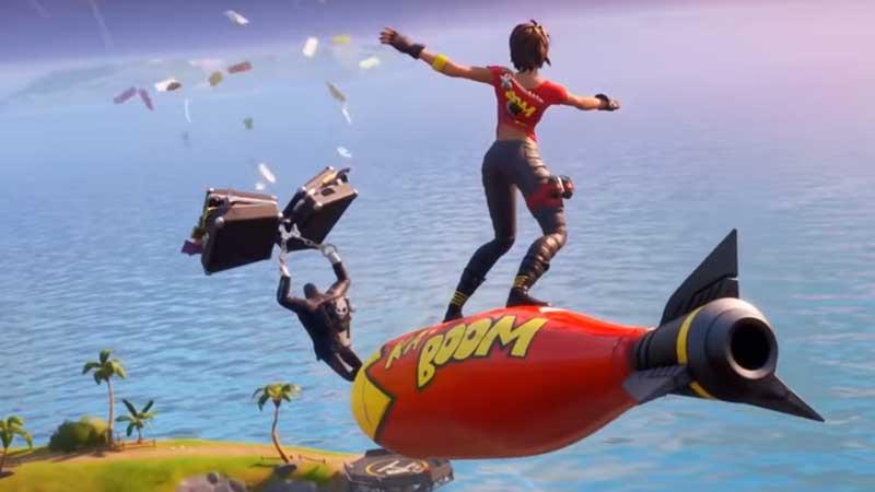 Fortnite 2 Season 2 Chapter 2 Unlock Bombs Away Glider