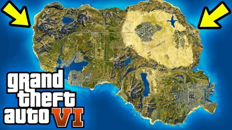 GTA 6 map leaked