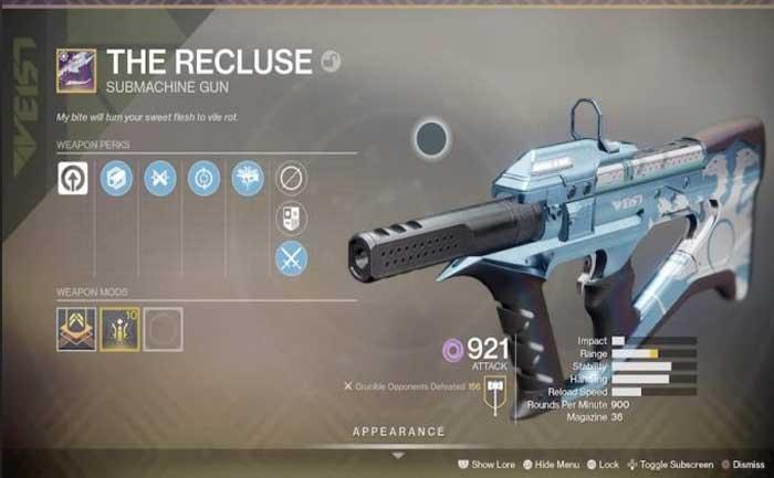 Pinnacle Weapons Guide