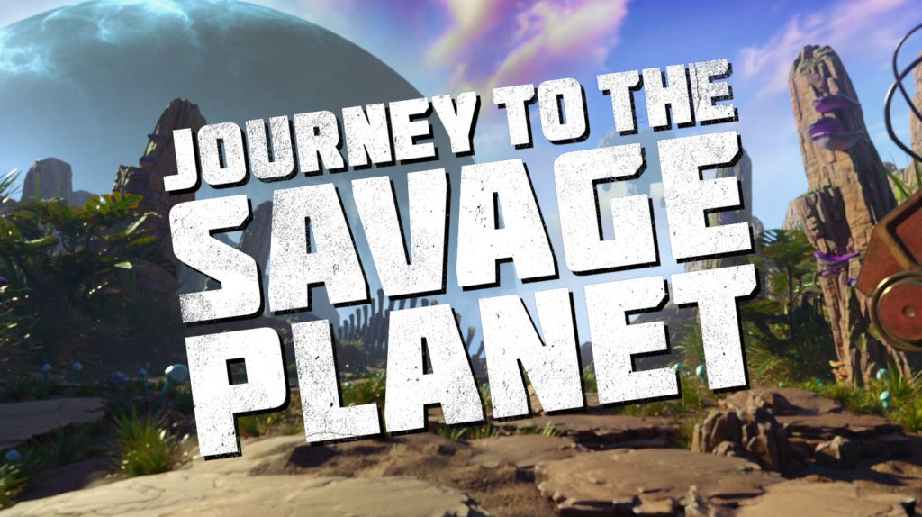 Journey to the savage planet | Epic Games Store Exclusive