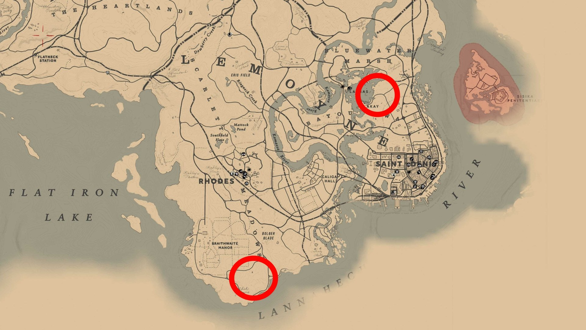 Panther RDR 2 location