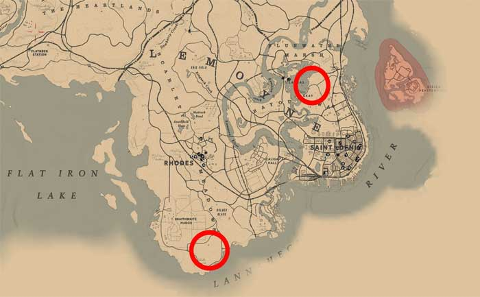 RDR 2 Panthers Location Guide
