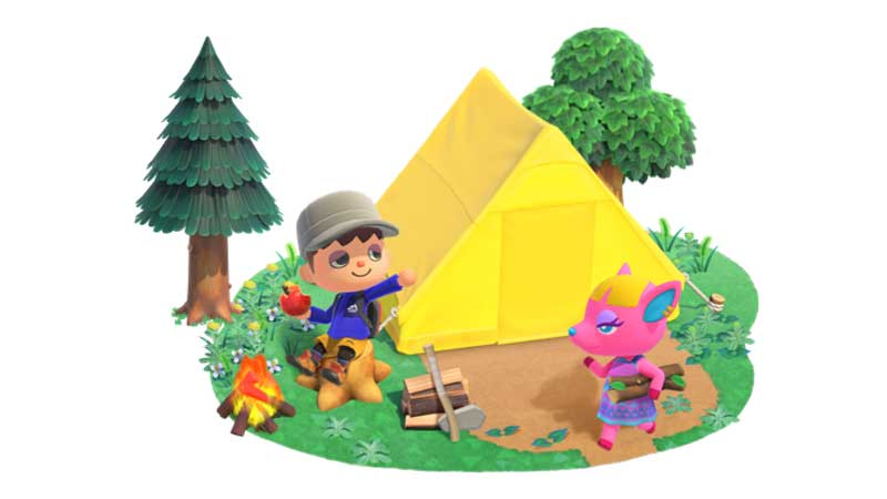 Animal Crossing New Horizons Tent Guide