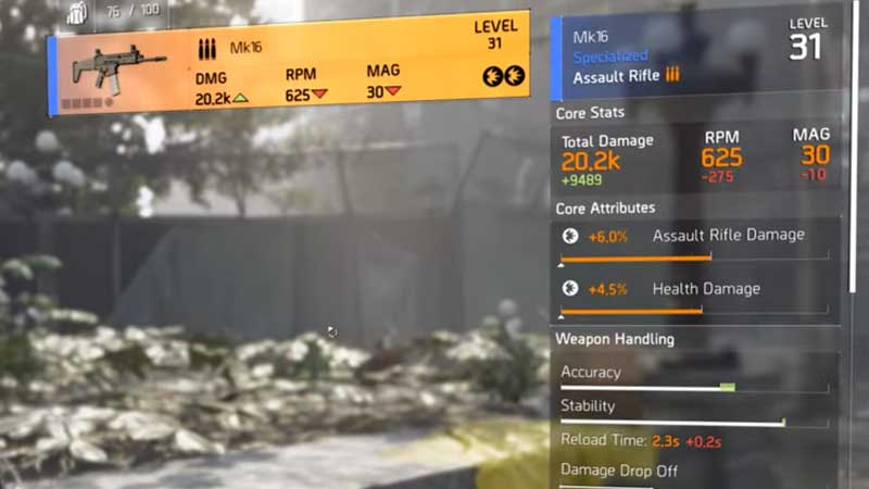Division 2 Warlords of New York MK16