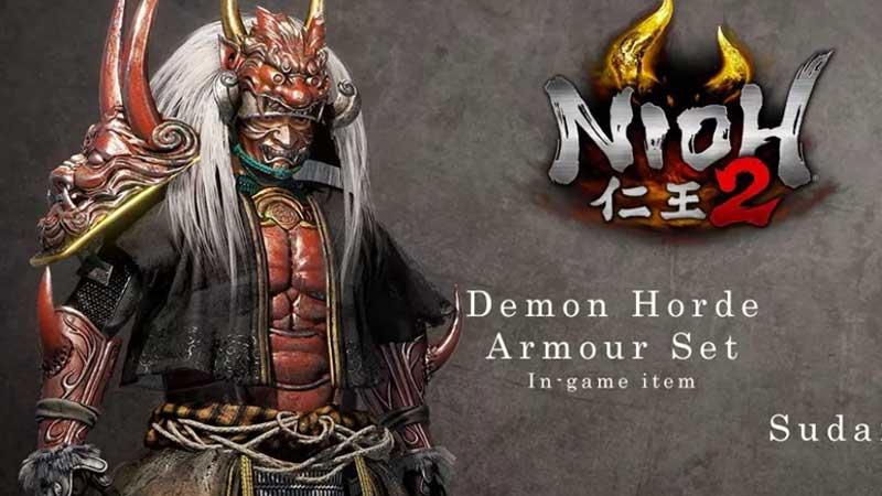 Nioh 2 Unlock Demon Horde Armor