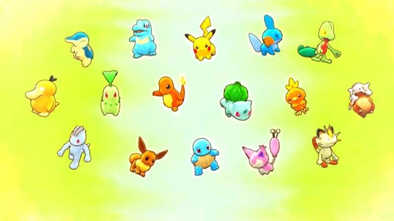 Pokemon Rescue Team DX All Pokemons