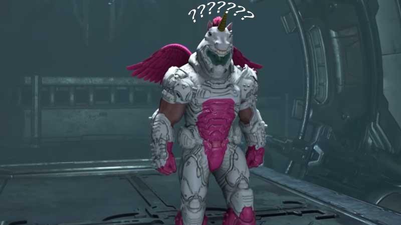 Doom Eternal Unlock Unicorn Skin