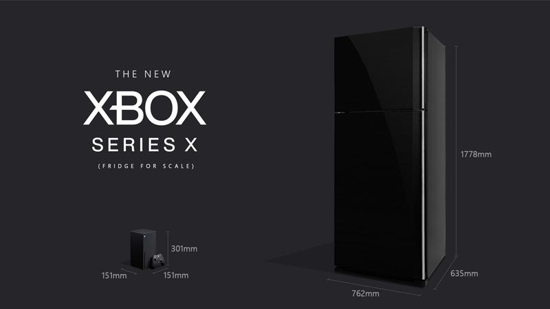 xbox series x dimensions