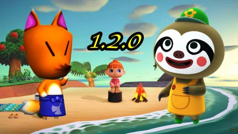 Animal Crossing New Horizons 1.2.0 Update