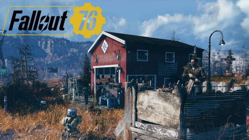 Fallout 76 CAMP location