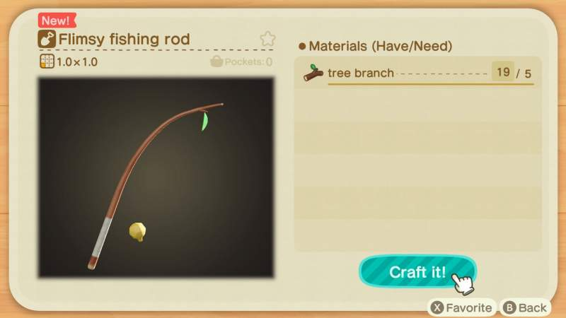 How To Get A Fishing Rod in Animal Crossing New Horizons