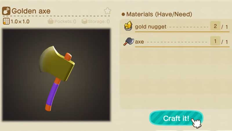 Animal Crossing New Horizons Golden Tools Guide Gamer Tweak