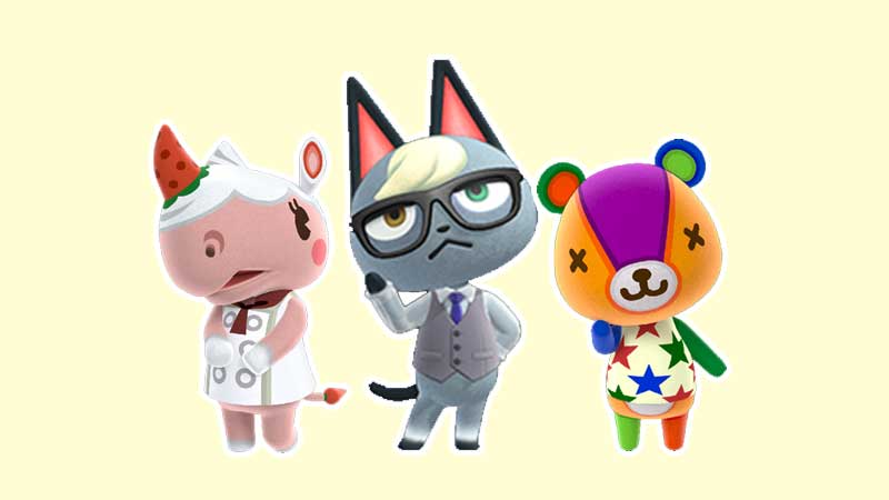 animal crossing characters names english