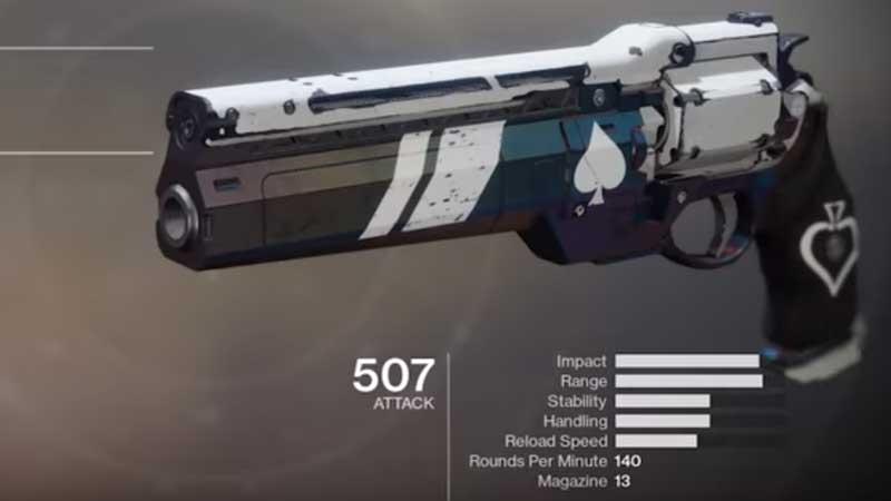 Destiny 2 Unlock Ace of Spades